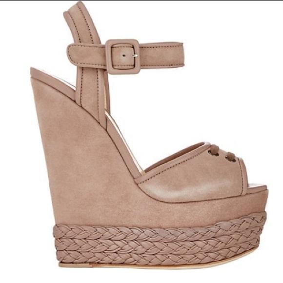 391f47a2c515 Giuseppe Zanotti Shoes - Giuseppe Braided Wedge Platform Sandal